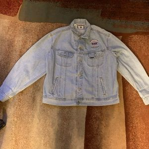 Authentic Jacket Unisex Reg Light Blue Wash Sz XL